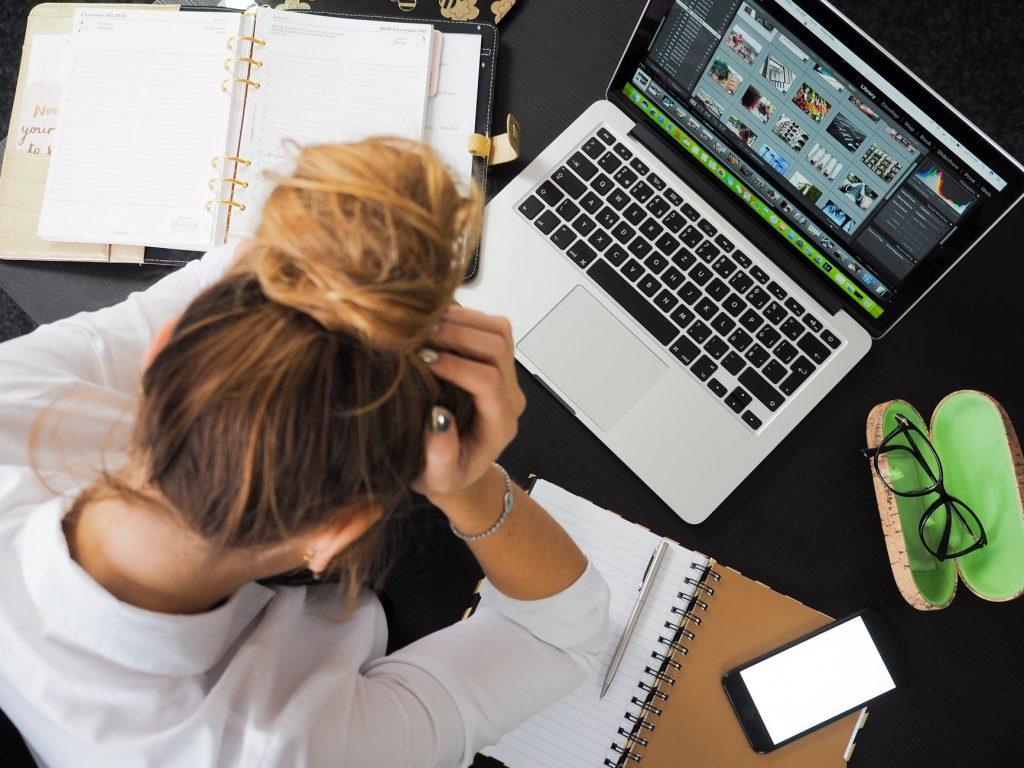 stress tijdens werk